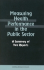 Measuring Health Performance in the Public Sector : A Summary of Two Reports - eBook