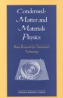 Condensed-Matter and Materials Physics : Basic Research for Tomorrow's Technology - eBook