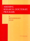 Assessing Research-Doctorate Programs : A Methodology Study - eBook