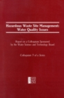 Hazardous Waste Site Management : Water Quality Issues - eBook
