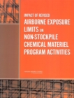 Impact of Revised Airborne Exposure Limits on Non-Stockpile Chemical Materiel Program Activities - eBook