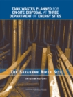 Tank Wastes Planned for On-Site Disposal at Three Department of Energy Sites : The Savannah River Site: Interim Report - eBook