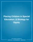 Placing Children in Special Education : A Strategy for Equity - eBook