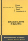 Expansion Joints in Buildings : Technical Report No. 65 - eBook