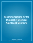 Recommendations for the Disposal of Chemical Agents and Munitions - eBook