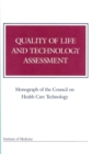 Quality of Life and Technology Assessment - eBook