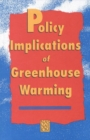 Policy Implications of Greenhouse Warming - eBook
