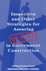 Inspection and Other Strategies for Assuring Quality in Government Construction - eBook