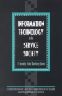 Information Technology in the Service Society : A Twenty-First Century Lever - eBook