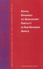 Social Dynamics of Adolescent Fertility in Sub-Saharan Africa - eBook