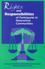 Rights and Responsibilities of Participants in Networked Communities - eBook
