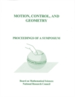 Motion, Control, and Geometry : Proceedings of a Symposium - eBook