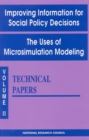 Improving Information for Social Policy Decisions -- The Uses of Microsimulation Modeling : Volume II, Technical Papers - eBook