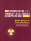 Disposition of High-Level Radioactive Waste Through Geological Isolation : Development, Current Status, and Technical and Policy Challenges - eBook