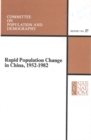 Rapid Population Change in China, 1952-1982 - eBook