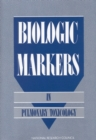 Biologic Markers in Pulmonary Toxicology - eBook