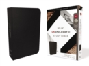 NKJV, Unapologetic Study Bible, Bonded Leather, Black, Red Letter Edition : Confidence for Such a Time As This - Book