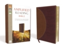 Amplified Reading Bible, Leathersoft, Brown : A Paragraph-Style Amplified Bible for a Smoother Reading Experience - Book