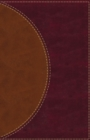 Amplified Reading Bible, Leathersoft, Brown, Thumb Indexed : A Paragraph-Style Amplified Bible for a Smoother Reading Experience - Book