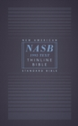NASB, Thinline Bible, Paperback, Red Letter, 1995 Text, Comfort Print - Book