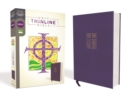 NRSV, Thinline Bible, Cloth over Board, Navy, Comfort Print - Book