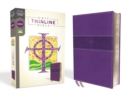 NRSV, Thinline Bible, Leathersoft, Purple, Comfort Print - Book