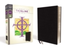 NRSV, Thinline Bible, Bonded Leather, Black, Comfort Print - Book