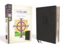 NRSV, Thinline Bible, Large Print, Leathersoft, Black, Comfort Print - Book