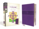 NRSV, Thinline Bible, Large Print, Leathersoft, Purple, Comfort Print - Book