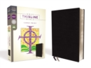 NRSV, Thinline Bible, Large Print, Bonded Leather, Black, Comfort Print - Book