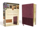 NRSV, Cultural Backgrounds Study Bible, Leathersoft, Burgundy, Comfort Print : Bringing to Life the Ancient World of Scripture - Book