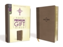 NRSV, Premium Gift Bible, Leathersoft, Brown, Comfort Print - Book