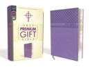 NRSV, Premium Gift Bible, Leathersoft, Purple, Comfort Print - Book
