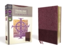 NRSV, Thinline Reference Bible, Leathersoft, Burgundy, Comfort Print - Book