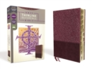 NRSV, Thinline Reference Bible, Leathersoft, Burgundy, Thumb Indexed, Comfort Print - Book