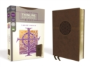 NRSV, Thinline Reference Bible, Large Print, Leathersoft, Brown, Comfort Print - Book