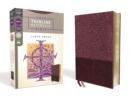 NRSV, Thinline Reference Bible, Large Print, Leathersoft, Burgundy, Comfort Print - Book