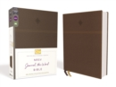 NRSV, Journal the Word Bible, Leathersoft, Brown, Comfort Print : Reflect, Journal, or Create Art Next to Your Favorite Verses - Book