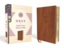 NRSV, Single-Column Reference Bible, Leathersoft, Brown, Comfort Print - Book