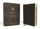NRSV, Single-Column Reference Bible, Premium Goatskin Leather, Black, Premier Collection, Art Gilded Edges, Comfort Print - Book