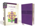 NRSV, Thinline Bible, Compact, Leathersoft, Purple, Comfort Print - Book