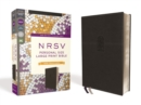 NRSV, Personal Size Large Print Bible with Apocrypha, Leathersoft, Black, Comfort Print - Book