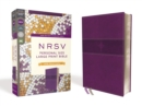 NRSV, Personal Size Large Print Bible with Apocrypha, Leathersoft, Purple, Comfort Print - Book