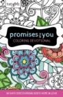 Faithgirlz Promises for You Coloring Devotional : 60 Days Discovering God's Hope and Love - Book