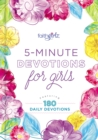 5-Minute Devotions for Girls : Featuring 180 Daily Devotions - eBook