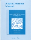 Student Solutions Manual for Introduction to Mathematical Statistics and Its Applications - Book