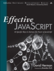 Effective JavaScript : 68 Specific Ways to Harness the Power of JavaScript - Book