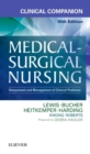 Clinical Companion to Medical-Surgical Nursing : Assessment and Management of Clinical Problems - Book