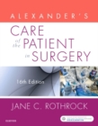 Alexander's Care of the Patient in Surgery - Book