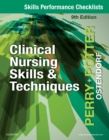 Skills Performance Checklists for Clinical Nursing Skills & Techniques - E-Book - eBook